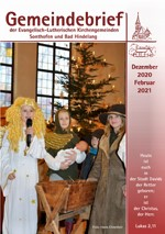 Titelbild Gemeindebrief Weihnachten 2020